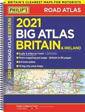 Big Road Atlas Britain and Ireland 2021
