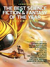 The best science fiction and fantasy of the year. Volume 9