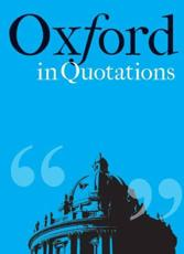 Oxford in Quotations