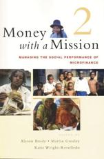 Managing the Social Performance of Microfinance