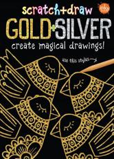 Scratch & Draw Gold & Silver