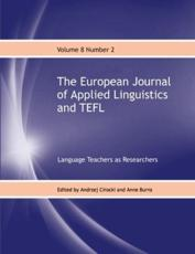 The European Journal of Applied Linguistics and TEFL Volume 8 Number 2