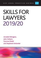 Skills for Lawyers 2019/2020