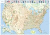 U.S.A. -Michelin Rolled & Tubed Wall Map Encapsulated