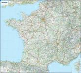 France - Michelin Rolled & Tubed Wall Map Encapsulated