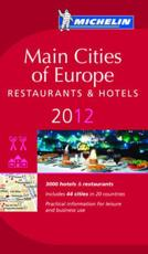 Main Cities of Europe 2012 Michelin Guide
