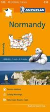 Normandy - Michelin Regional Map 513