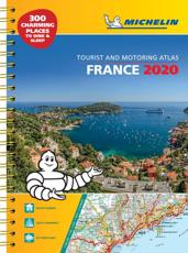 France 2020 - A3 Tourist & Motoring Atlas