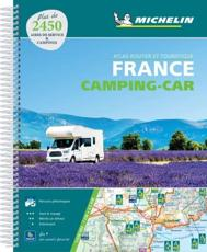 France Camping Car Atlas (A4 Spiral)