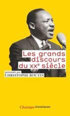 Grands discours du Xxe siecle - C. (editor) Boutin