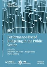Performance-Based Budgeting in the Public Sector