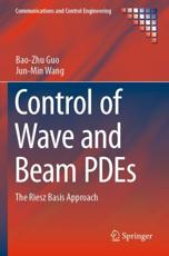 Control of Wave and Beam PDEs