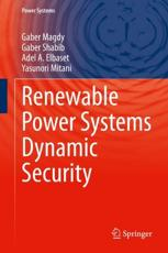 Renewable Power Systems Dynamic Security
