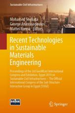 Recent Technologies in Sustainable Materials Engineering
