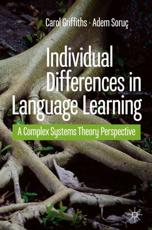 Individual Differences in Language Learning