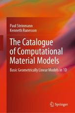 The Catalogue of Computational Material Models - Paul Steinmann (author), Kenneth Runesson (author)