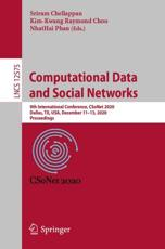 Computational Data and Social Networks Theoretical Computer Science and General Issues