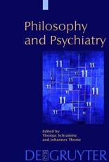 Philosophy and Psychiatry