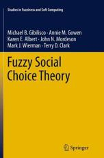 Fuzzy Social Choice Theory