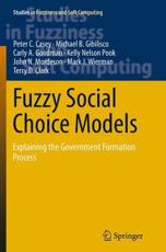 Fuzzy Social Choice Models