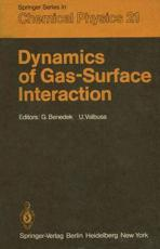 Dynamics of Gas-Surface Interaction