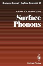 Surface Phonons