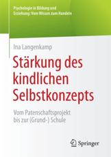 Stärkung Des Kindlichen Selbstkonzepts - Ina Langenkamp (author)