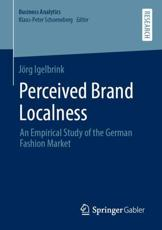 Perceived Brand Localness