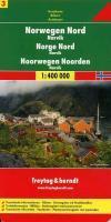 Norway North - Narvik Sheet 3 Road Map 1:400 000 - FREYTAG