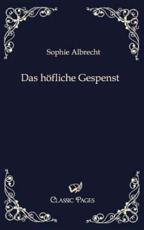 Das H Fliche Gespenst - Albrecht, Sophie