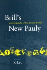 Brill's New Pauly Vol. 7 Antiquity - Hubert Cancik, Helmuth Schneider, Manfred Landfester, Christine F. Salazar