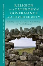 Religion as a Category of Governance and Sovereignty