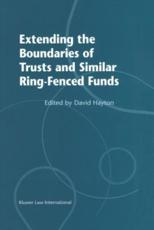 Extending the Boundaries of Trusts and Similar Ring-Fenced Funds