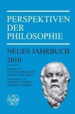 Perspektiven Der Philosophie - Georges Goedert (volume editor), Martina Scherbel (volume editor)