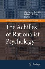 The Achilles of Rationalist Psychology - Thomas M. Lennon (editor), Robert J. Stainton (editor)