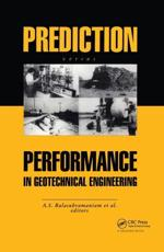 Prediction Versus Performance in Geotechnical Engineering