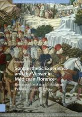 Somaesthetic Experience and the Viewer in Medicean Florence