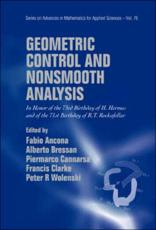 Geometric Control and Nonsmooth Analysis