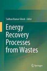 Energy Recovery Processes from Wastes