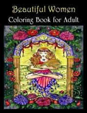 Beautiful Woman Coloring Book for Adult