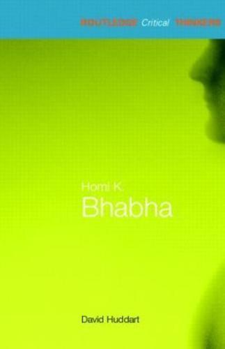 Homi Bhabha by David Huddart (Paperback, 2005)