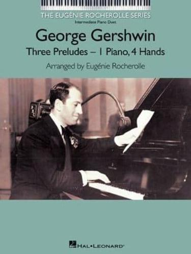 George Gershwin: Three Preludes by Hal Leonard Corporation (Paperback, 2013)