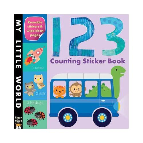 123 Counting Sticker Book by Tiger Tales (Paperback / softback, 2014)