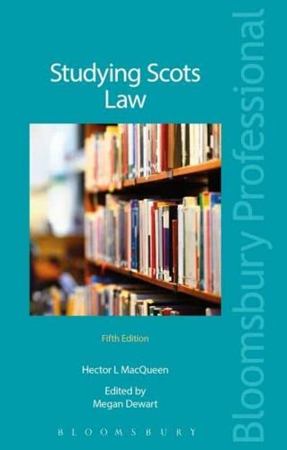 Studying Scots Law by Megan Dewart, Hector MacQueen (Paperback, 2016)